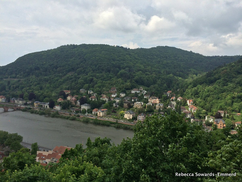 Heiligenberg and the Neckar river