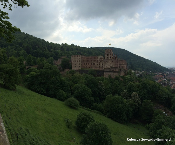 Heidelberg Castle from the gardens