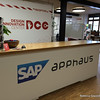 On Friday I worked out of the SAP apphaus in Heidelberg. Nice office!