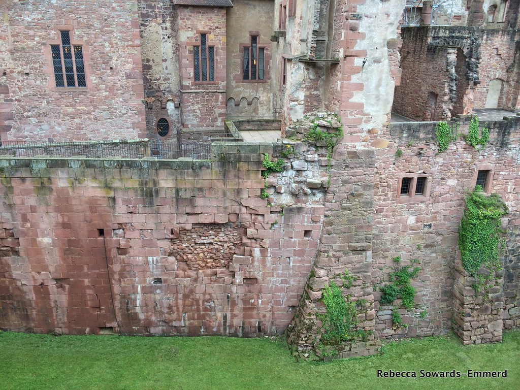 Castle wall layers