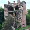 Heidelberg Castle Grounds, crumbling tower