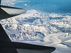 Iceland, Aerial - The coast of Greenland as seen from above