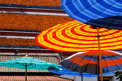 Bangkok Umbrellas