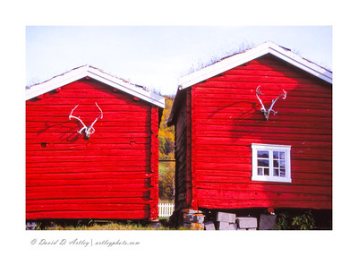 Cabins, Doverfjell National Park, Norway