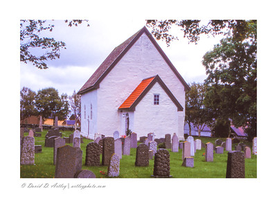 12th Century Giske Church, Godoya Island, Norway