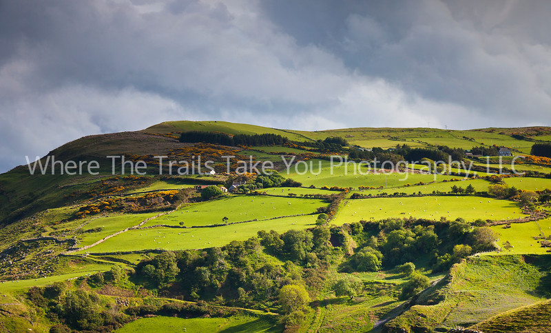 44  The View From Torr Head, Northern Ireland - the green, green beauty of Ireland.