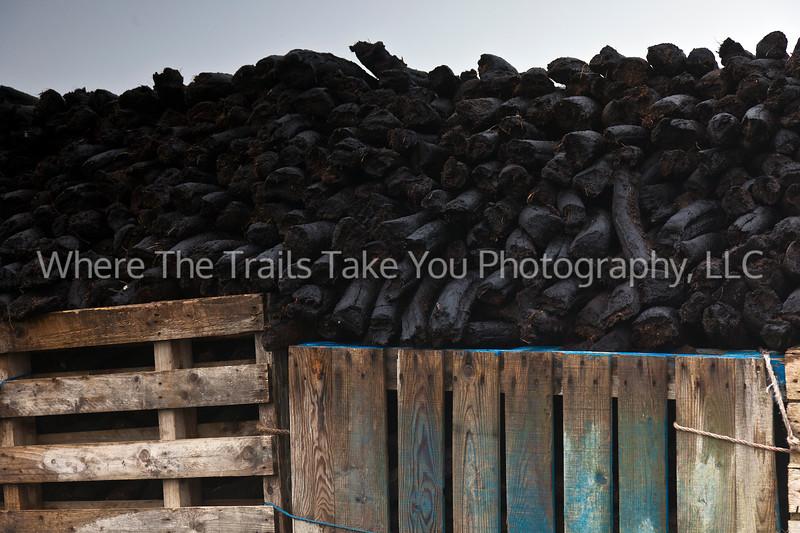 70  A Bin Full of Peat