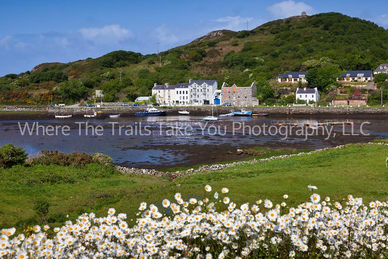 97  A View of Clifden Harbor, Connemara County, Ireland