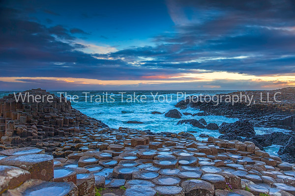 53  Giant's Causeway on a Stormy Morning