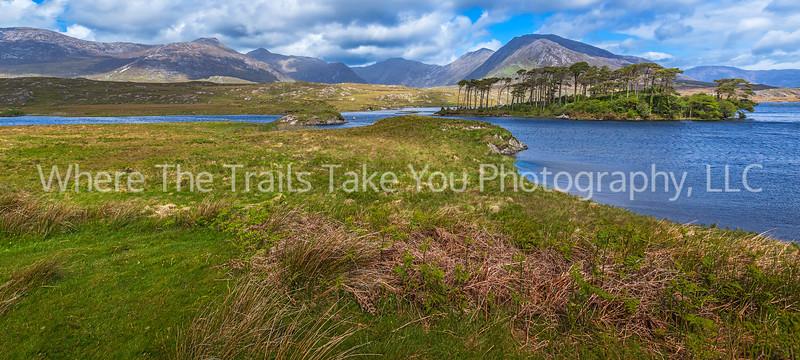 105  Connemara Mountain Scene