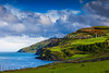"""43  The View From Torr Head - actually, Torr Head was to my left and behind and above me.  Torr Head means """"tall rock"""" and refers to the knob of stone revealed after all the soil was eroded away."""