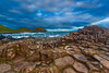 54  A stormy day at Giant's Causeway, Northern Ireland.