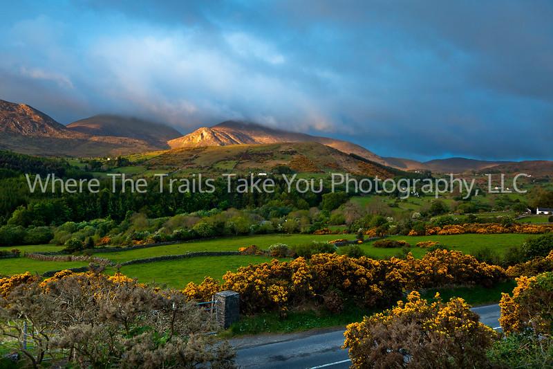 13  Sunrise on the Mourne Mountains, Northern Ireland