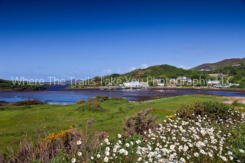 96  A View of Clifden Harbor, Connemara County, Ireland