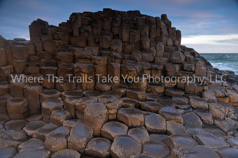 55  Columnar Basalts at Giant's Causeway, Northern Ireland