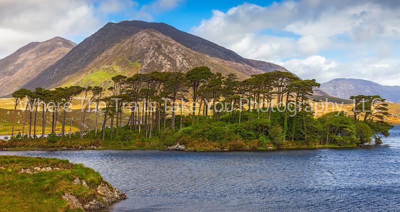 104  Connemara Mountains vista