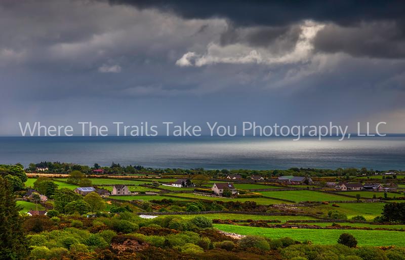 22  Sun and Storm on the Irish Sea, Northern Ireland
