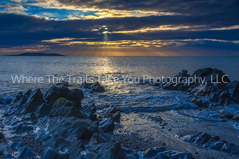 7  Sunrise Over the Sea, Ireland - captured just outside of Portmarnock, Ireland.