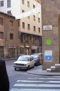 Florence street scene