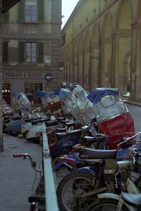 Motorbikes, Florence(?)