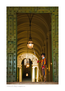 Pontifical Swiss Guard,  St. Peter's Basilica, Vatican, Rome, Italy