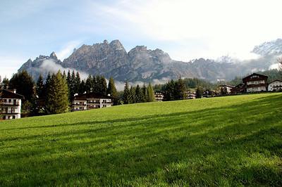 Shadows--Cortina d`Ampezzo, Italy