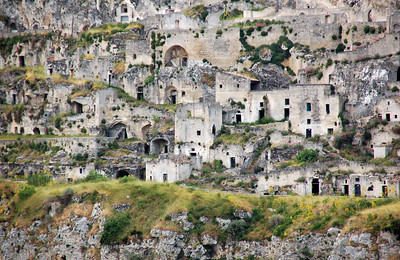 Matera, Italy (Cave Dwellings)