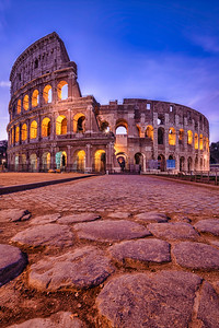 The Coliseum at Dawn