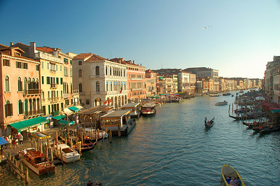 Grand Canal (A)--Venice, Italy