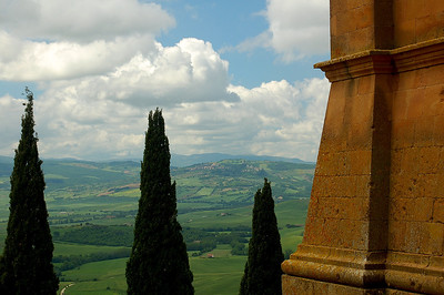 Tuscan Afternoon--Pienza, Italy