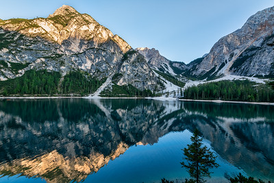 Afternoon Reflections at Lago di Braies