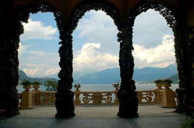 Lake Como from Villa Balbianello