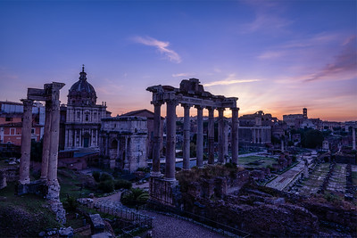 Roman Forum Sunrise