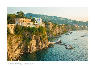 Cliffs, Sorrento, Italy