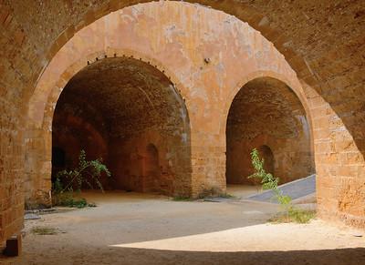 Cannon Batteries--Castello Maniace (Isola di Ortigia/Siracusa, Sicily)