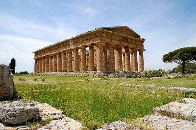 Temple of Neptune or Poseidon--Paestum