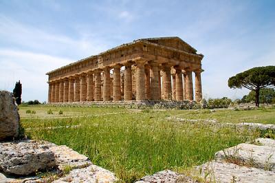 Temple of Neptune or Poseidon--Paestum