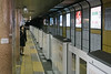 Japan, Nagoya - Subway platform scene