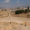 The Forum and Cardo. Jerash, Jordan.. Jerash, Jordan.