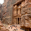 The Treasury. Petra, Jordan.