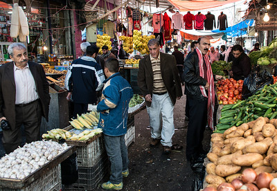 Souk near the Roman Theater.  Amman, Jordan.