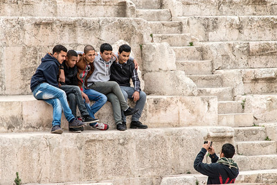 The Roman Theater.  Amman, Jordan.