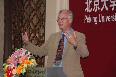 Philip Berke presents at the urban planning conference, Peking University, May 30, 2011.