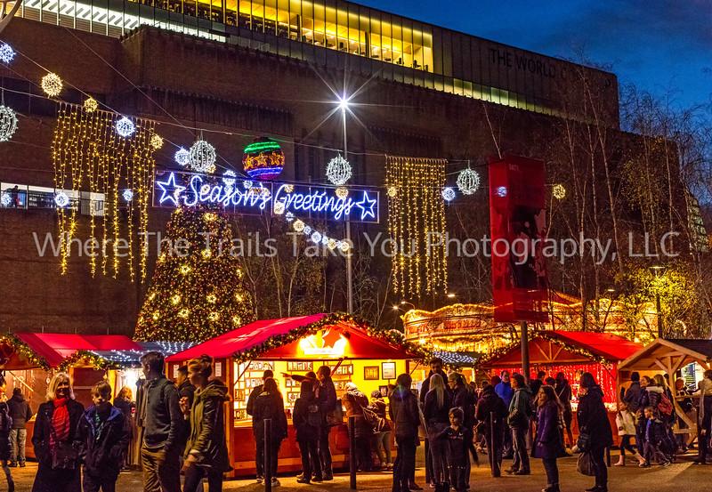 Christmas Market At The Tate