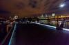 Full Moon Over The Millennium Bridge