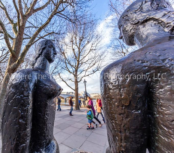 Sculptures Along The Queens Walk