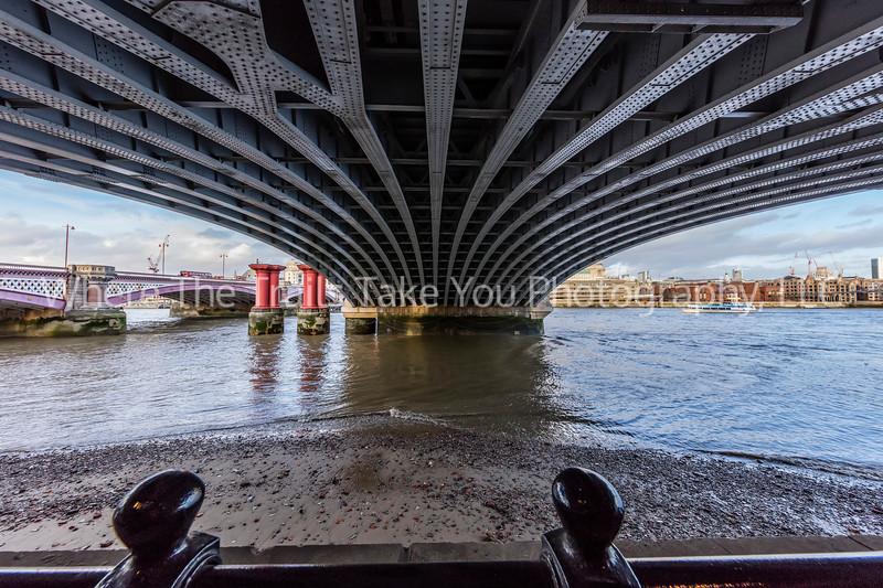 Beneath The Blackfriars Train Bridge