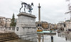 Gift Horse And Trafalgar Square