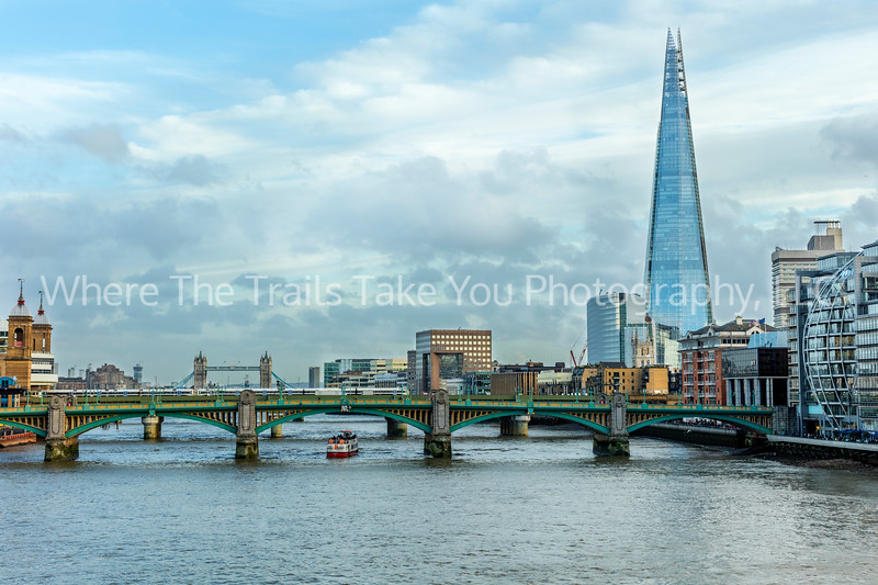 Iconic View Toward The Shard