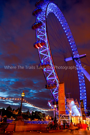 3  The London Eye at Dusk
